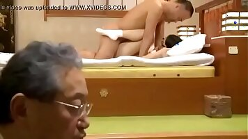 Father and daughter fucked at home