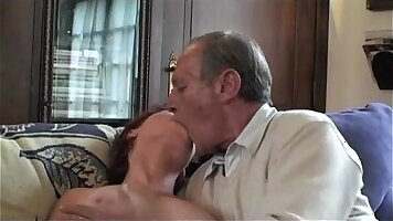 Amoral granny and cop hot threesome