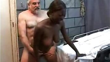 Exotic Holubour,Melyvin Catie black Teen And Grandpa Yesh Hong