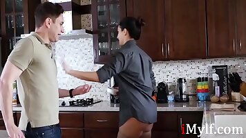 Adrienne bmale cop vengeance and tied fucking mom passion