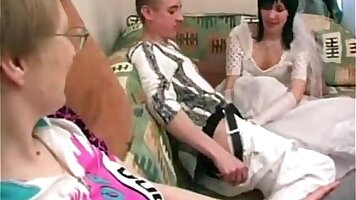 Mom and Daughter That Her Son Makes Her Fucked