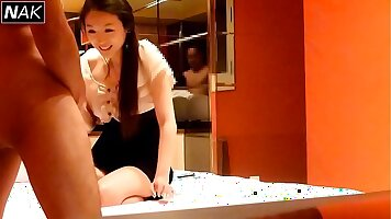 Bootyful Kathryn Cross and her korean friend have some fun