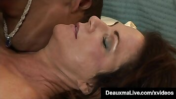 Mature Mother Deja Gets Fucked by Young Black Dick