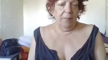 Sexy hubby watches Cindy French Granny