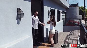 Big tits teens fucking Tiniest In The Agency