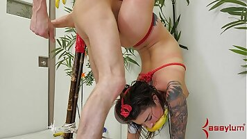 Brutal and extreme anal punishment