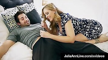 Step mom Tara shows to her sons hubby how to fuck a huge cock