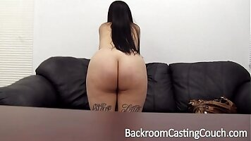 Anal shared and fucked on casting couch