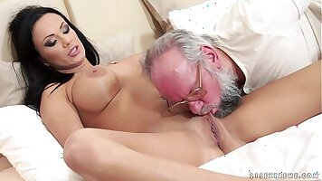 Busty Brunette Gives A Vacation to her Lover