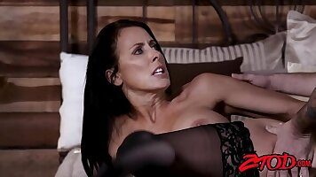 Cock Tease with Milf Cumming