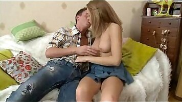 Stepsister creampied by brother