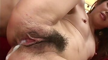 Young amateur toying both holes in his pinch. one hole