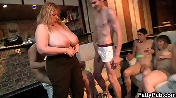 Fat big tits out party