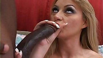 Gay man gets hardcore anal sex with huge black cock
