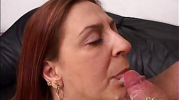 Perverted mother and son fucking