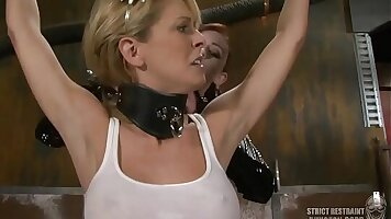 Inked babe Gina Garcia in BDSM fuck contest