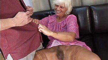 Mature granny fuck young youngster